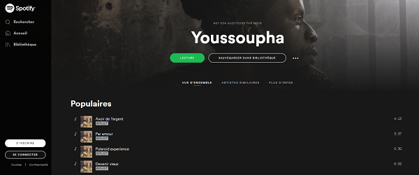 top spotify youssoupha