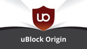 bloqueur de pub - uBlock Origin