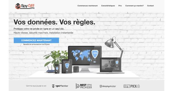Le VPN Spyoff : avis détaillé et retour d'expérience sur ce VPN